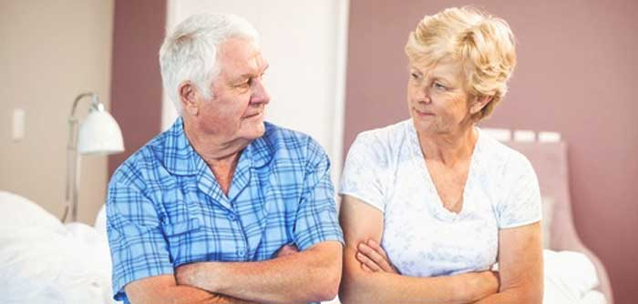 Menopause bei Männern und Frauen
